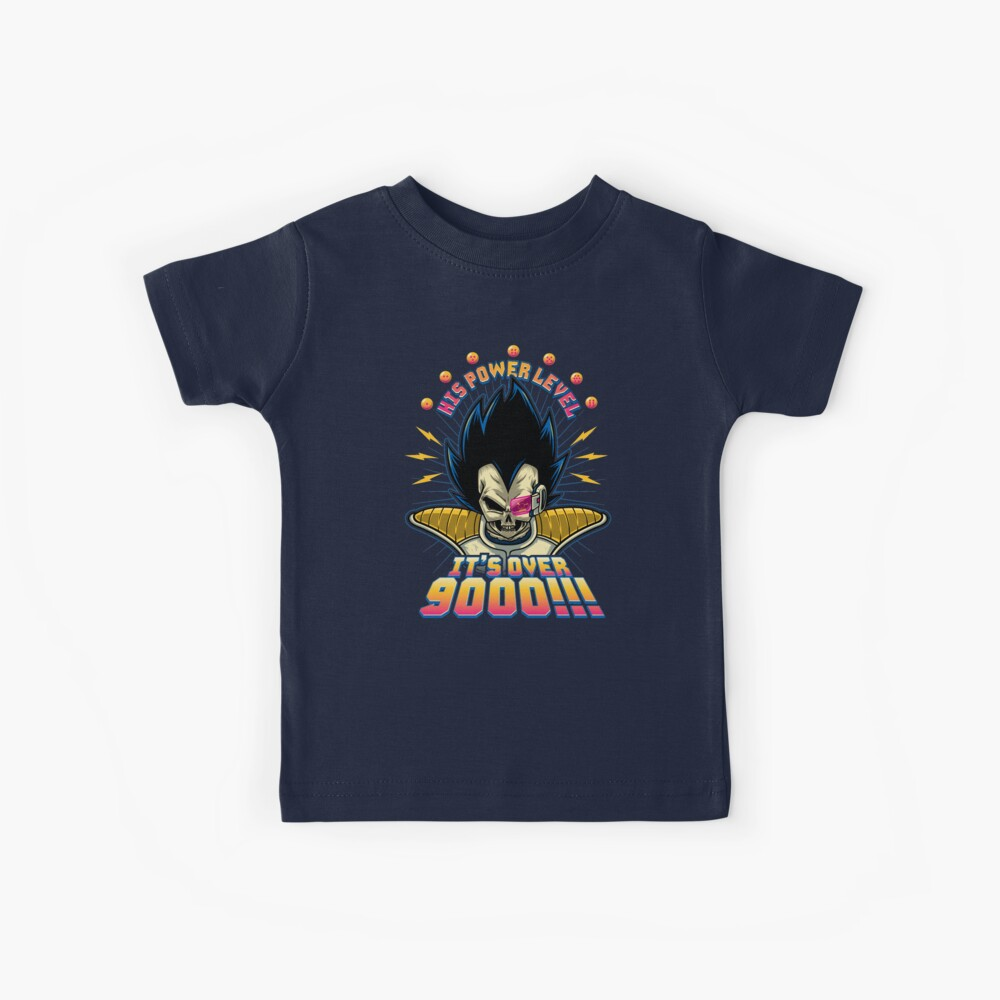 Over 9000! Kinder T-Shirt