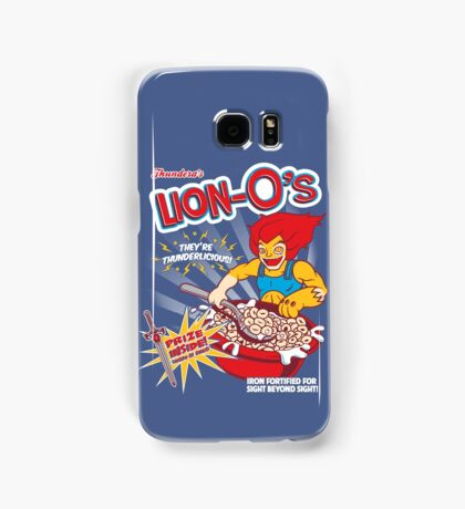 Lion-O's Cereal Samsung Galaxy Case/Skin