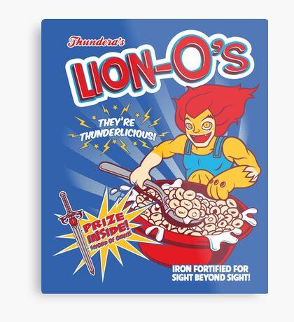 Lion-O's Cereal Metal Print