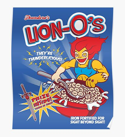 Lion-O's Cereal Poster