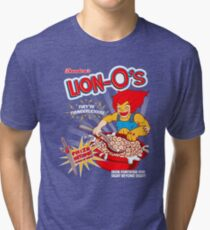 Lion-O's Cereal Tri-blend T-Shirt