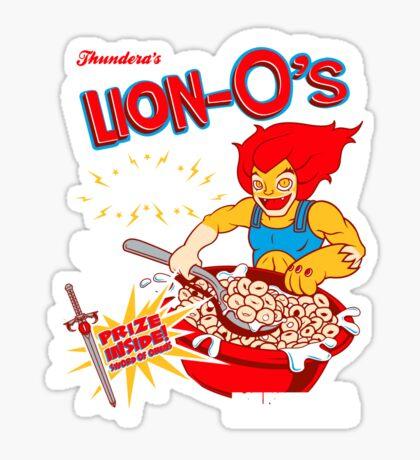 Lion-O's Cereal Sticker