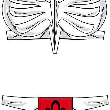 Saint Seiya Armor Hyoga by mythsandmagic