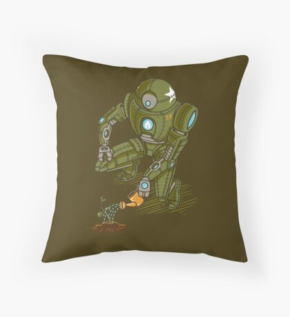 Eco-Robo Unit  #24 Throw Pillow