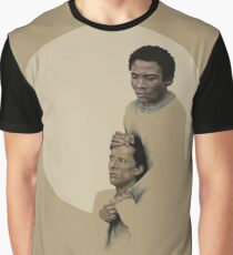 Troy and Abed being sad Graphic T-Shirt