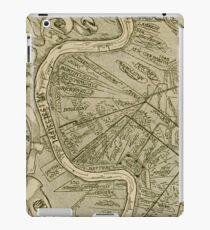 Vintage Map of New Orleans Louisiana (1919) iPad Case/Skin