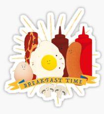 Breakfast time Sticker