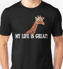 The Hangover Quote - My Life Is Great! T-Shirt