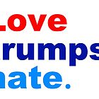 love trumps hate by Thelittlelord