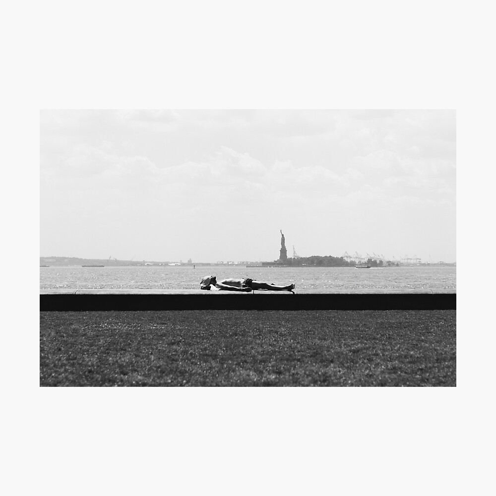 BATTERY PARK, NEW YORK CITY - 2016 Photographic Print