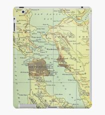 Vintage Map of San Francisco California (1905) iPad Case/Skin