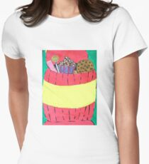 cookie jar Womens Fitted T-Shirt