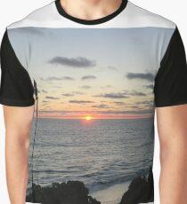 Mid -Summer Tiki Set Graphic T-Shirt