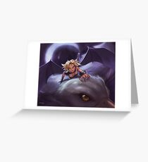 Griffin Rider Greeting Card