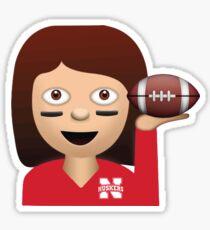 Nebraska Football Emoji Sticker
