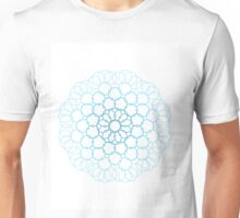 sky blue lace Unisex T-Shirt