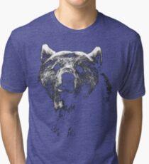 bear black shirt Tri-blend T-Shirt