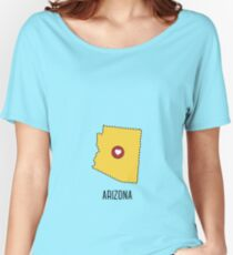 Arizona State Heart Women's Relaxed Fit T-Shirt