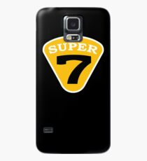 SUPER 7 Badge Cutout Number Case/Skin for Samsung Galaxy