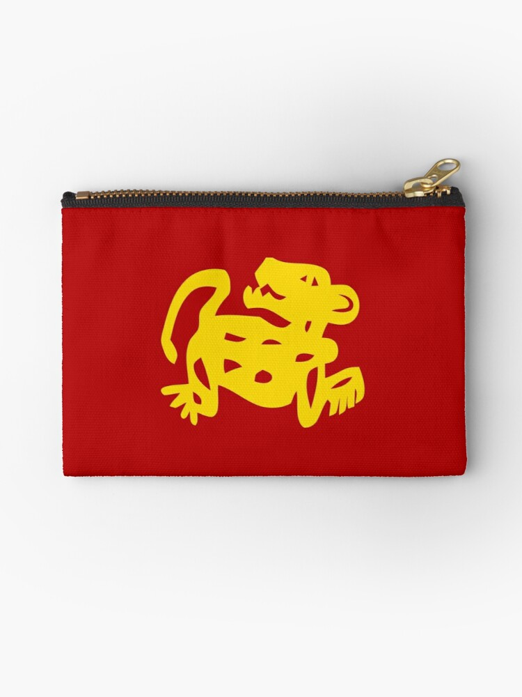 red jaguars legends of the hidden temple shirt studio pouches by