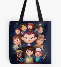 Stranger Things Cartoon Tote Bag