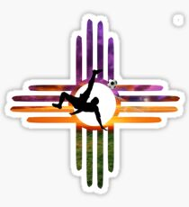 Soccer New Mexico Sticker