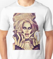 Sharon Needles with tentacles Unisex T-Shirt