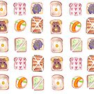 Toast Pattern by swelldame
