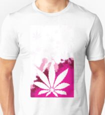 Pink Cannabis T-Shirt