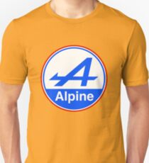 Alpine Bright Blue Unisex T-Shirt