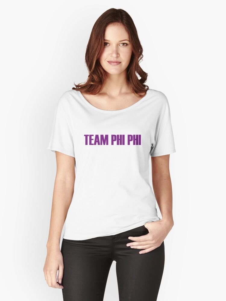 Team Phi Phi O'hara All Stars 2 Women's Relaxed Fit T-Shirt Front