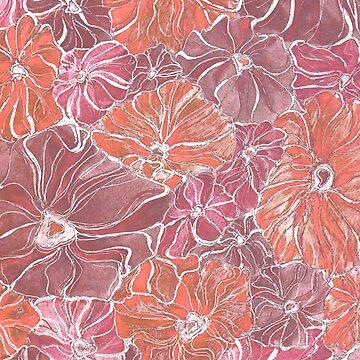 Sanded Flowers by sambambina