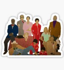 The Royal Tenenbaums Sticker