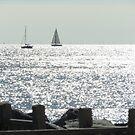 ships at sea by Jax Blunt