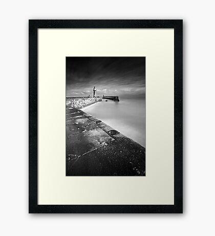 Seaward BW Framed Print