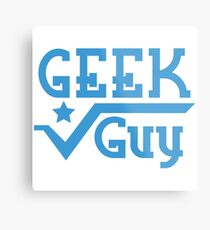 Geek Guy Metal Print
