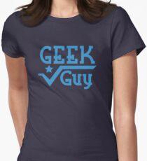 Geek Guy Women's Fitted T-Shirt