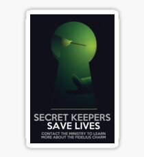 Secret Keepers Save Lives Sticker
