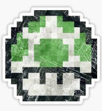 Life Mushroom Vintage Pixels Sticker