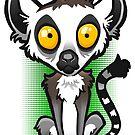 Ring Tailed Lemur by binarygod