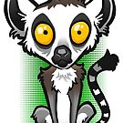 Ring Tailed Lemur by binarygod