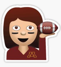 Minnesota Football Emoji Sticker