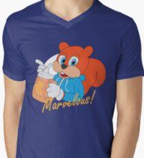 """""""Marvelous"""" - Conker  Men's V-Neck T-Shirt"""