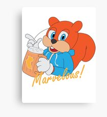 """Marvelous"" - Conker  Canvas Print"
