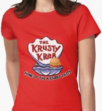 Krusty Krab Women's Fitted T-Shirt
