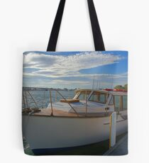 The family boat Tote Bag