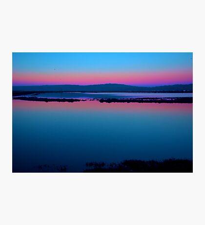 Wetlands Sunset Photographic Print