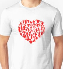 I Love Cartoons T-Shirt