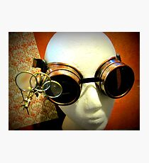 Steampunk Goggles 1.0 Photographic Print