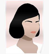 Ceres, a minimal portrait Poster
